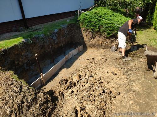2020 ogrody tomszak murek z piaskowca kosze siatkowe 15