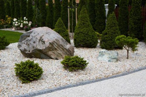 Bielsko-Biała Komorowice Krakowskie - klasyczny ogród przy podmiejskim dworku