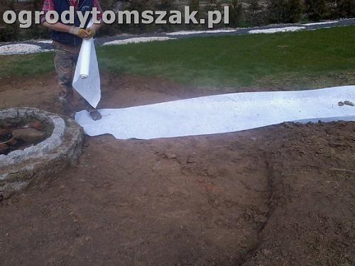 ogrod bielsko-biala trawnik palenisko plac0021
