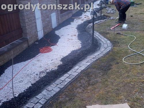 ogrod bielsko-biala trawnik palenisko plac0023