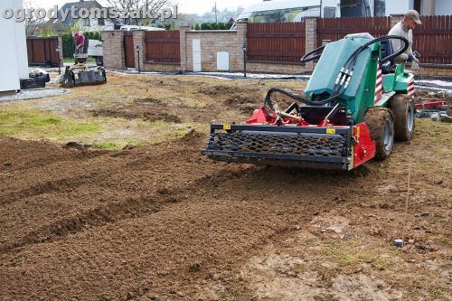 ogrod bielsko-biala trawnik palenisko placIMG 4594