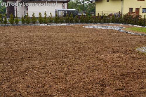 ogrod bielsko-biala trawnik palenisko placIMG 4599