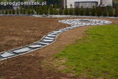ogrod bielsko-biala trawnik palenisko placIMG 4601