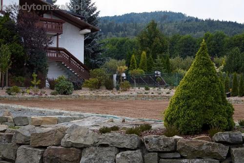 ogrod buczkowice piaskowiec z brennej brenski skarpy mur04