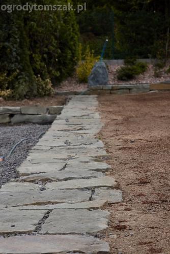 ogrod buczkowice piaskowiec z brennej brenski skarpy mur06