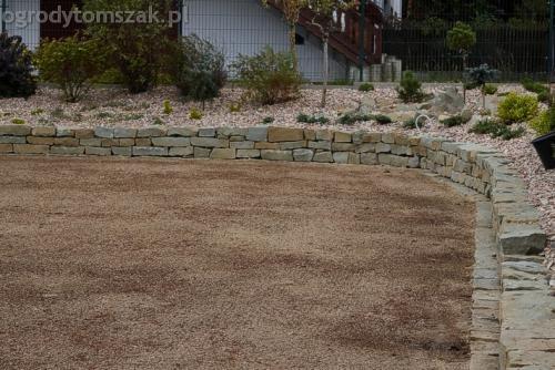 ogrod buczkowice piaskowiec z brennej brenski skarpy mur07