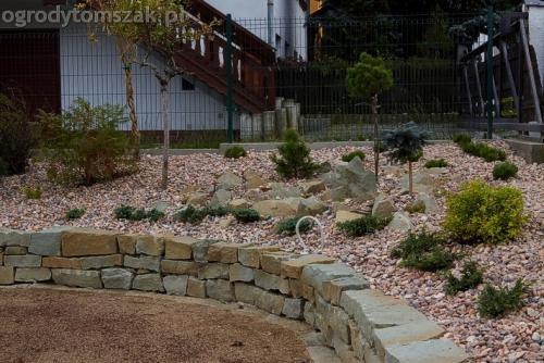 ogrod buczkowice piaskowiec z brennej brenski skarpy mur08