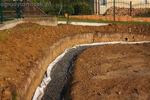 ogrod buczkowice piaskowiec z brennej brenski skarpy mur13