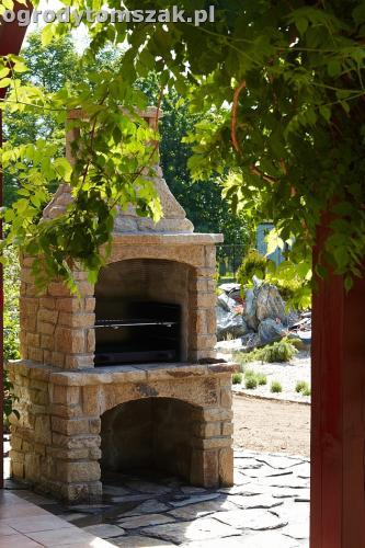 ogrod kozy oczko wodne kaskada grill ogrodowyIMG 5031