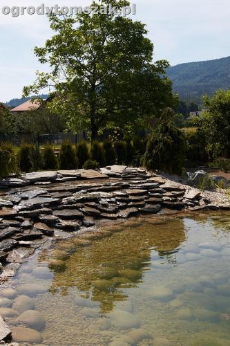 ogrod kozy oczko wodne kaskada grill ogrodowyIMG 5042