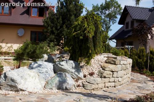 ogrod kozy oczko wodne kaskada grill ogrodowyIMG 5048
