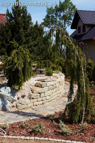 ogrod kozy oczko wodne kaskada grill ogrodowyIMG 5062