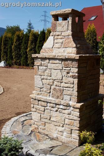 ogrod kozy oczko wodne kaskada grill ogrodowyIMG 5073