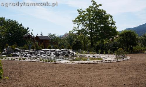 ogrod kozy oczko wodne kaskada grill ogrodowyIMG 5077