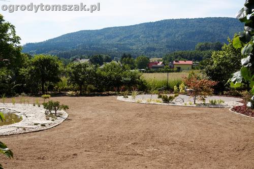 ogrod kozy oczko wodne kaskada grill ogrodowyIMG 5105