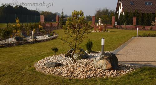 Mazańcowice - ogród klasyczny