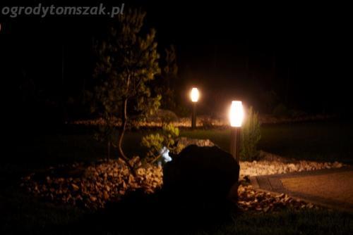 ogrod mazancowice oswietlenie noca 2010 07