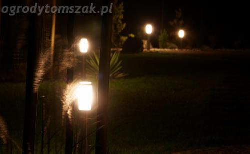 ogrod mazancowice oswietlenie noca 2010 09