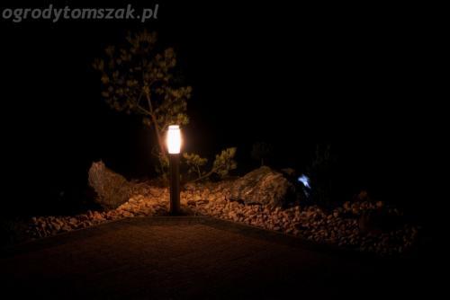 ogrod mazancowice oswietlenie noca 2010 13
