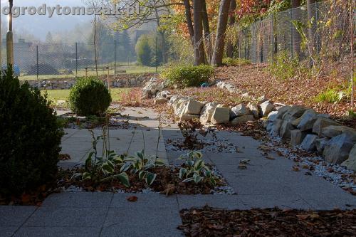 ogrod nowoczesny bystra piaskowiec trawnik lasIMG 5860