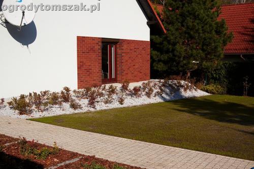 ogrod nowoczesny bystra piaskowiec trawnik lasIMG 5871