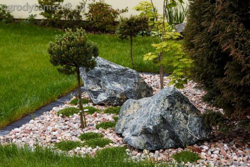 ogrod pewel zywiec lodygowice rybarzowice skarpa trawy metaloplastyka kaskada oczko wodne andezyt donica kamienna 15