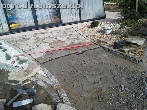 ogrod sciezka granit kamienny formowanie terenu20141016 121035