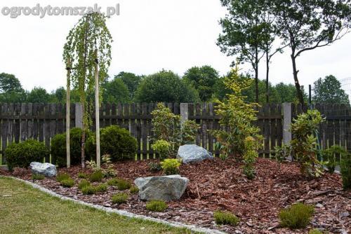 Śląsk - obsadzenie ogrodu, niskie palenisko, regeneracja trawnika