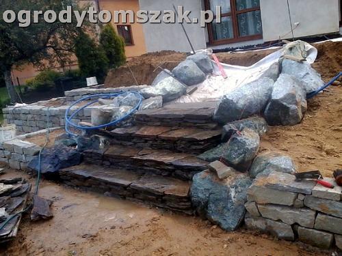 ogrod taras ziemny skalniak schody0084