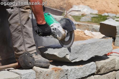ogrod taras ziemny skalniak schody IMG 5230