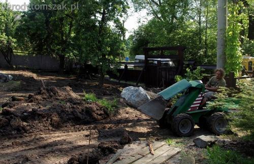 ogrodytomszak Bielsko Biala Mikuszowice oczko wodne kamien naturalny avant formowanie terenu 03