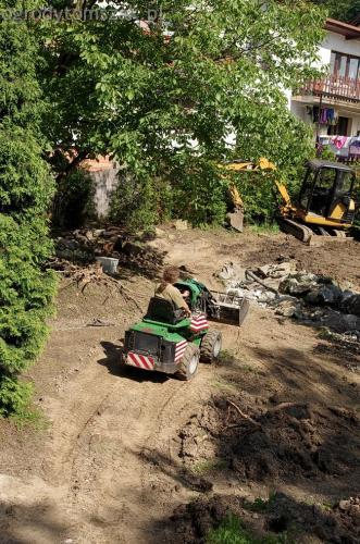 ogrodytomszak Bielsko Biala Mikuszowice oczko wodne kamien naturalny avant formowanie terenu 10