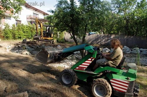 ogrodytomszak Bielsko Biala Mikuszowice oczko wodne kamien naturalny avant formowanie terenu 13