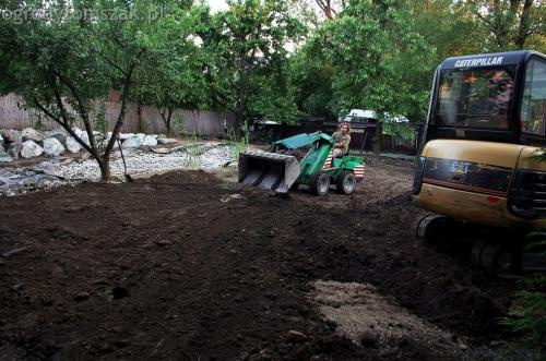 ogrodytomszak Bielsko Biala Mikuszowice oczko wodne kamien naturalny avant formowanie terenu 17