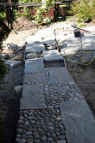 ogrodytomszak Bielsko Biala Mikuszowice oczko wodne kamien naturalny avant formowanie terenu 20