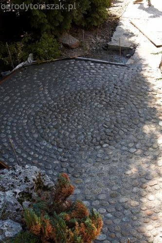 ogrodytomszak Bielsko Biala Mikuszowice oczko wodne kamien naturalny avant formowanie terenu 22
