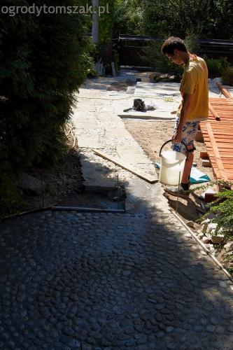 ogrodytomszak Bielsko Biala Mikuszowice oczko wodne kamien naturalny avant formowanie terenu 23