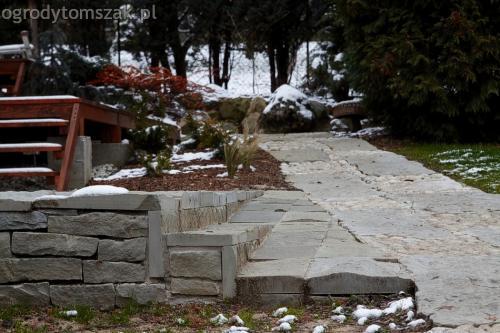 ogrodytomszak Bielsko Biala Mikuszowice oczko wodne kamien naturalny avant formowanie terenu 29