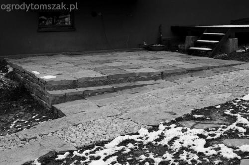 ogrodytomszak Bielsko Biala Mikuszowice oczko wodne kamien naturalny avant formowanie terenu 31