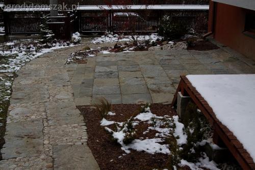 ogrodytomszak Bielsko Biala Mikuszowice oczko wodne kamien naturalny avant formowanie terenu 32
