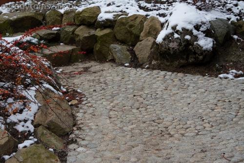 ogrodytomszak Bielsko Biala Mikuszowice oczko wodne kamien naturalny avant formowanie terenu 34