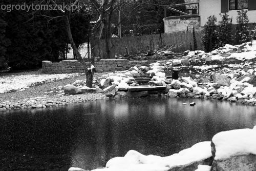 ogrodytomszak Bielsko Biala Mikuszowice oczko wodne kamien naturalny avant formowanie terenu 37