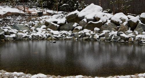 ogrodytomszak Bielsko Biala Mikuszowice oczko wodne kamien naturalny avant formowanie terenu 38