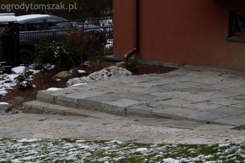 ogrodytomszak Bielsko Biala Mikuszowice oczko wodne kamien naturalny avant formowanie terenu 39