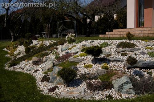 Bielsko-Biała Stare Bielsko - skarpa, taras ziemny, skalniak
