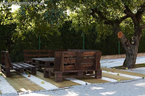 podest taras podkałady kolejowe drewno podkłady eko IMG 7706