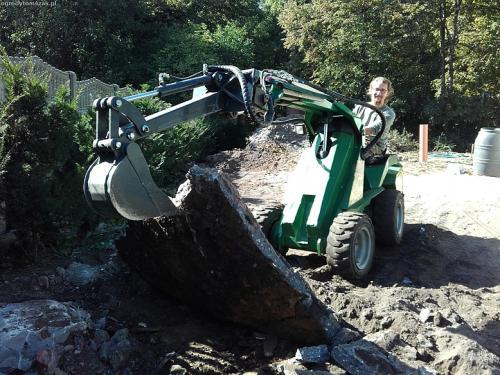slask slaskie formowanie terenu sprzatanie terenu mini koparka ogrod 20151001 140232