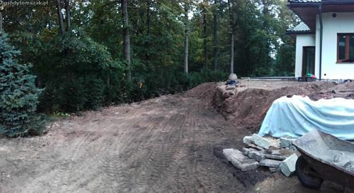 slask slaskie formowanie terenu sprzatanie terenu mini koparka ogrod 20151007 085814